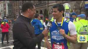 Boston Marathon: Tedy Bruschi Calls His Marathon Medal 'A Super Bowl Ring' [Video]