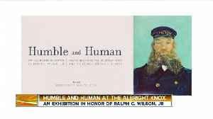 Albright Knox Art Gallery – Humble and Human Exhibit in Honor of Ralph C. Wilson, Jr. [Video]
