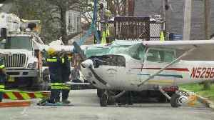 Neighbors Recount Small Plane Crash In Long Island [Video]