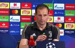 Allegri demands intensity Juve had against Atletico ahead of Ajax showdown [Video]