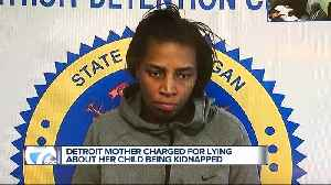Detroit mom charged with filing a false police report after claiming boy had been kidnapped [Video]