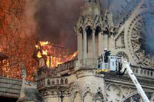 News video: Notre Dame Cathedral Has Been Saved From 'Total Destruction'