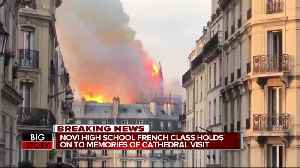 Novi High School French students visited Notre Dame cathedral 16 days ago [Video]