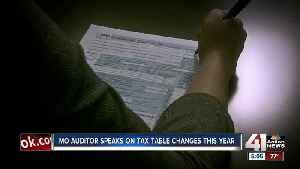 Missouri auditor speaks on tax table changes this year [Video]