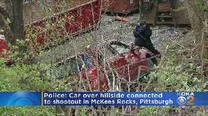 Police: Car Over Hillside Connected To Shootout In McKees Rocks, Pittsburgh [Video]