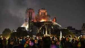 Notre Dame Cathedral burns [Video]