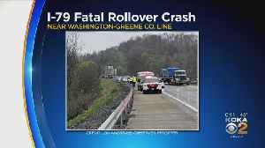 Man Dies After Rollover Crash On I-79 In Washington County [Video]