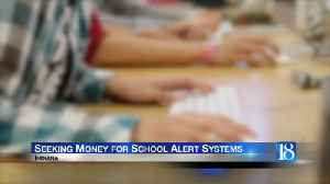 Lawmakers pass bill allowing schools to seek state money for alert system [Video]