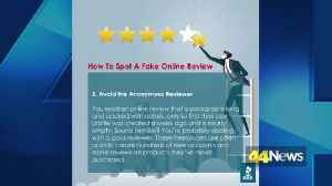 Tips to spot fake online reviews [Video]