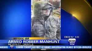 Oroville police search for armed robbery suspect [Video]