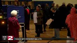 Is there a problem with affidavit ballots? [Video]