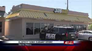 Suspect robs Subway store in Warner Robins [Video]