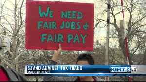 Stand against tax fraud [Video]