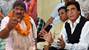 BSP leader threatens to beat Raj Babbar, his supporters with shoes | Oneindia News [Video]