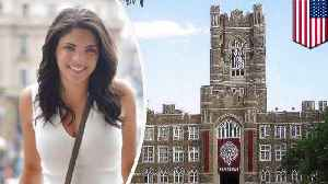 News video: Fordham student dies falling from clock tower while taking a picture