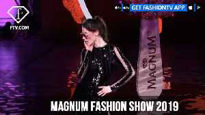 Top Celebrities at Magnum Fashion Show 2019 | FashionTV | FTV [Video]
