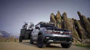 Volkswagen Atlas Basecamp Concept Driving Preview [Video]