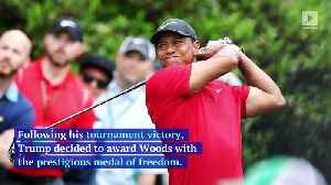 Tiger Woods to Receive the Presidential Medal of Freedom [Video]