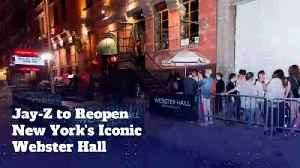 Jay-Z to Reopen New York's Iconic Webster Hall [Video]