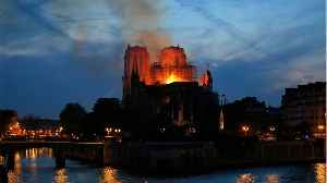Authorities Survey Damage In Wake Of Notre Dame Fire, Racing To Save Relics [Video]