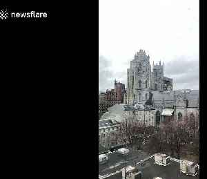 Montreal's Notre Dame bells ring in solidarity for Paris' cathedral fire [Video]