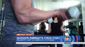 Chef Gordon Ramsay working to lose 50 pounds [Video]