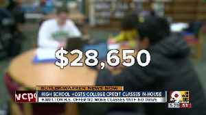 Hamilton High School hosts college credit classes in-house [Video]