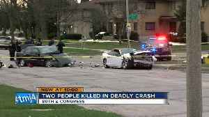 Two killed in car crash on Milwaukee's northwest side [Video]