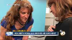 South Bay mom meets woman who received her son's heart [Video]