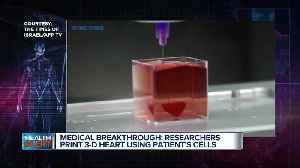 Ask Dr. Nandi: Israeli researchers print 3D heart using patient's own cells [Video]
