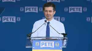 Mayor Pete Buttigieg Kicks Off 2020 Campaign with Event in South Bend, IN [Video]