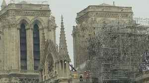 Notre-Dame saved from complete destruction [Video]