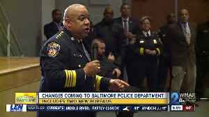 Harrison announces his first BPD leadership shakeup [Video]