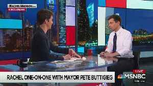 News video: MSNBC's Rachel Maddow swaps coming-out stories with gay Peter Buttigieg
