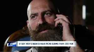 Study: men's beards have more germs than dog fur [Video]