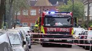 Suspected gas explosion and house fire in East London's Walthamstow [Video]