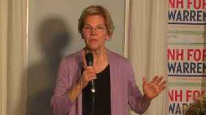 News video: Elizabeth Warren Recounts the Motivation She Got From Trump's Inauguration