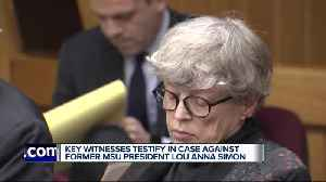 Former Michigan State University President Lou Anna K. Simon hears more evidence in preliminary hearing [Video]