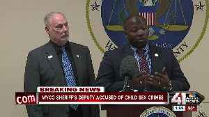 Wyandotte County deputy charged with child sex crimes [Video]
