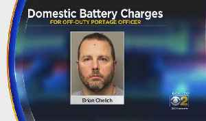 Porter County Police Officer Charged With Domestic Battery [Video]
