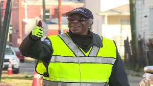 Long-Time Virginia Crossing Guard Hangs Up Her Vest After 50 Years [Video]