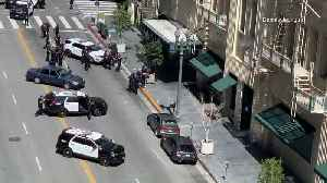 Police Shoot and Kill Man Armed With Shotgun Near Downtown Los Angeles, Officials Say [Video]