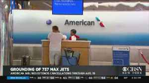 American Airlines Extends Cancellations [Video]