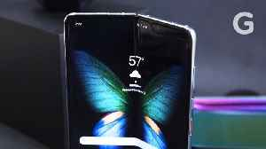 News video: Hands On: Samsung Galaxy Fold