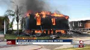 Couple loses everything in fire [Video]