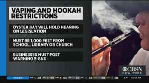 Local Town Puts New Restrictions On Vaping [Video]