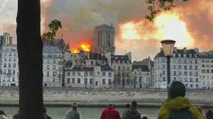Minnesota Man Witnesses Notre Dame Cathedral Fire [Video]