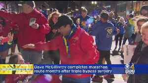 Dave McGillivray Completes Boston Marathon Months After Triple Bypass Surgery [Video]