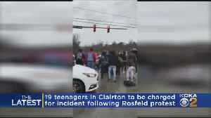 19 Teenagers In Clairton To Be Charged For Incident Following Michael Rosfeld Protest [Video]