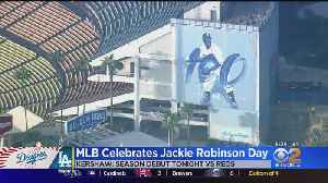 Dodgers Celebrate Jackie Robinson Day And Clayton Kershaw's Return [Video]